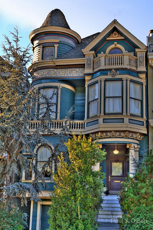 171 best painted ladies queen anne victorian houses for San francisco victorian houses