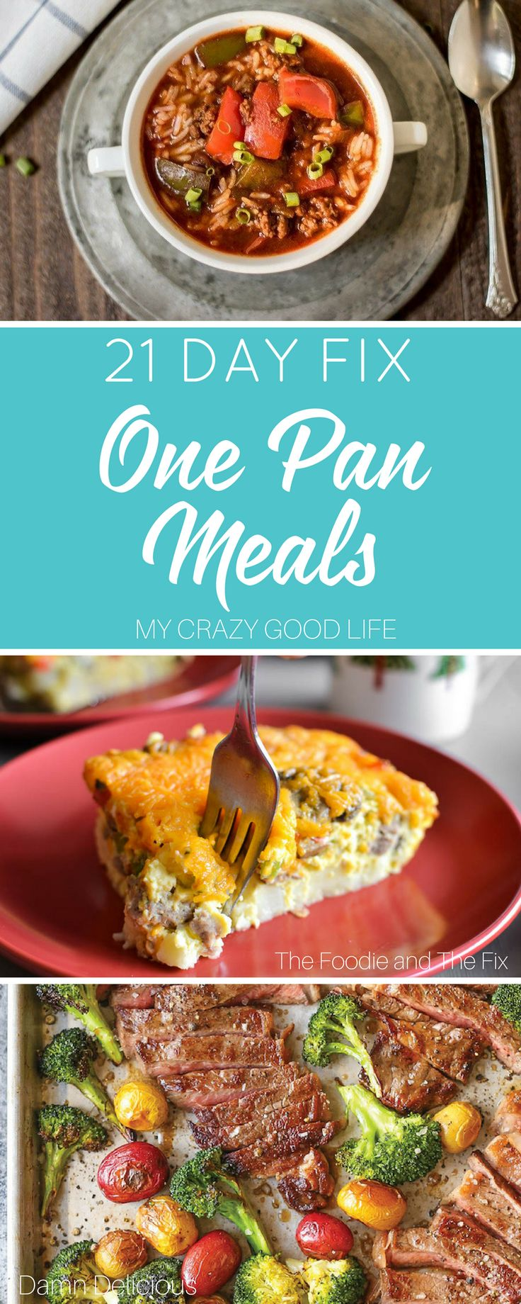 21 Day Fix One Pan Meals