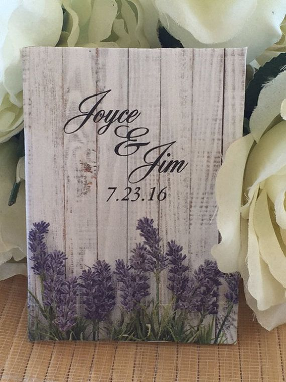 50 Lavender Wedding Seed Packet Favorslavender by FavorUniverse
