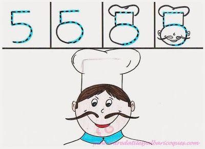 El 5: Un cocinero