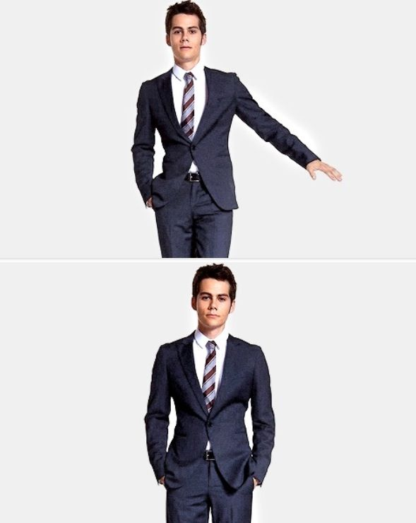 """""""This is what I'll be wearing if I go to the ball, who knows."""" -Stiles."""