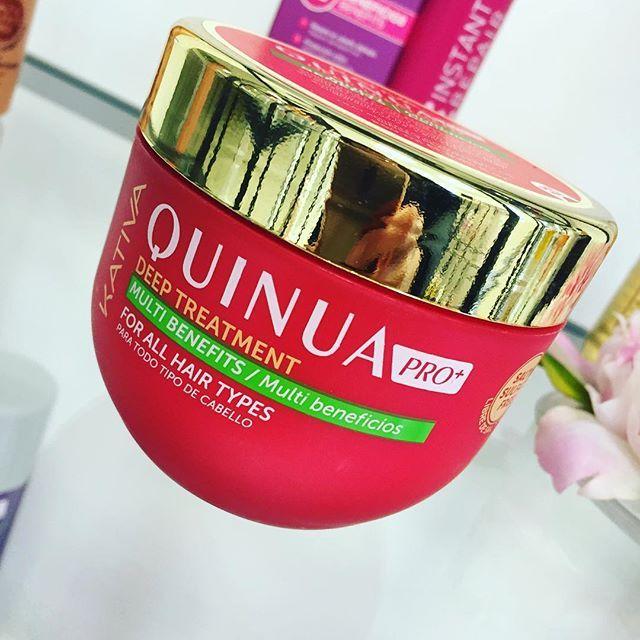 Kativa Quinua Pro Deep Treatment Η αποτελεσματικότερη θεραπεία που διαπερνά και δυναμώνει τα μαλλιά , αυξάνει την αντοχή της τρίχας και βοηθάει στην διατήρηση του χρώματος. Οί δικές σας φωτογραφίες!