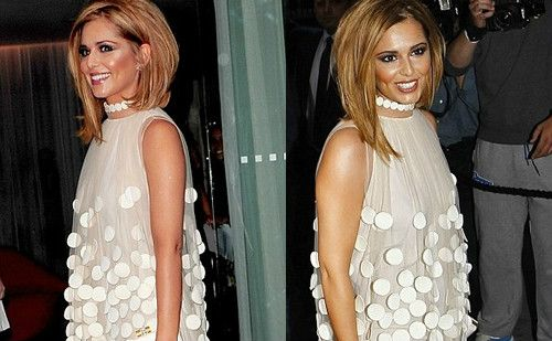 Cheryl Cole Goes Blonde, Cuts Hair & Joins Twitter! 2