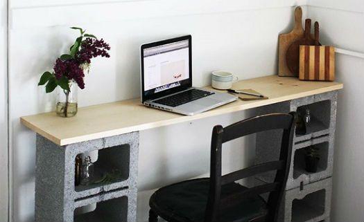Artesanato Casa e Dicas: Blocos de concreto podem ser ótimas mobílias para ...