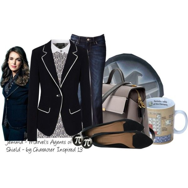 Jemma Simmons Agents of Shield | Professor style, Clothes