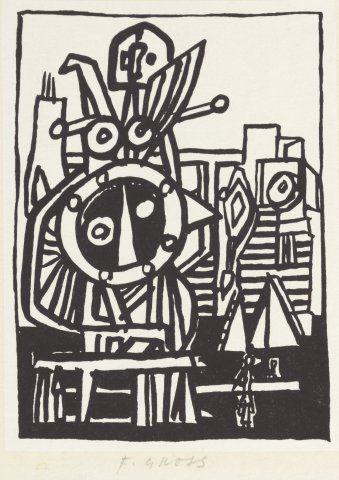 GrossFrantišek (1909 - 1985) | Machine | Aukce obrazů, starožitností | Aukční dům Sýpka