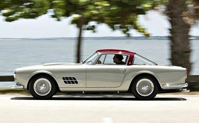 Ferrari 410 Super America 1957 #ferrarivintagecars