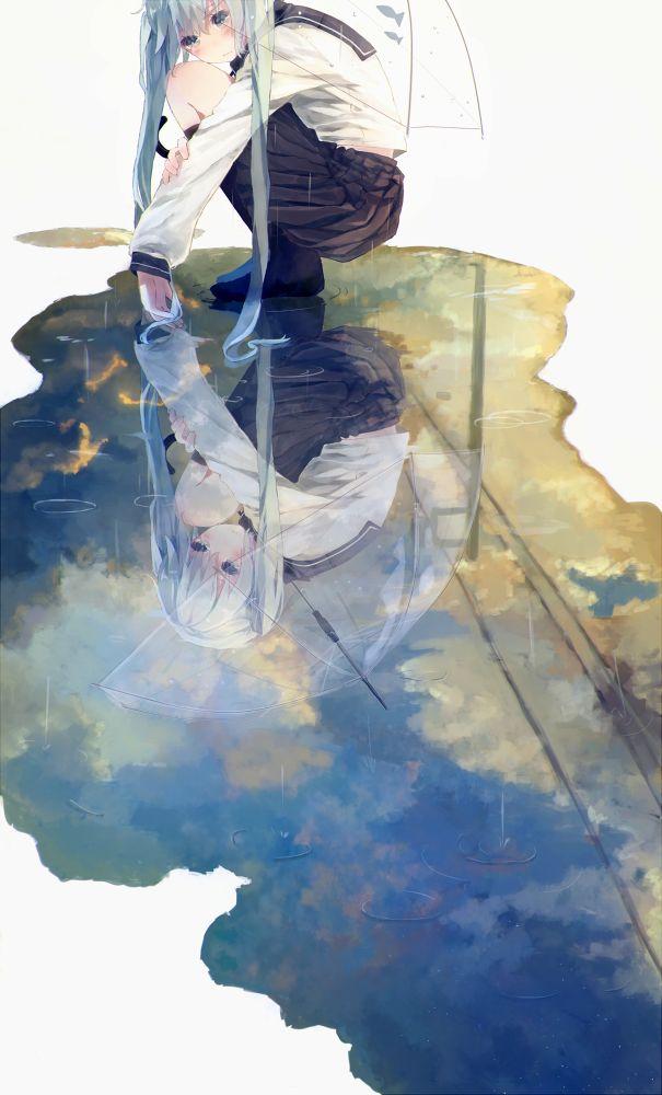 nomarai: hatsune miku (vocaloid) drawn by bou shaku - Danbooru