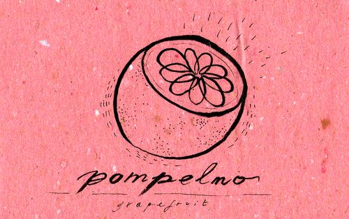 Italian Language ~  Pompelmo (grapefruit)