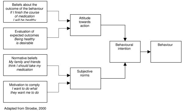 the theory of reasoned action This article describes the integrative model of behavioral prediction (im), the latest formulation of a reasoned action approach the im attempts to identify a limited set of variables that can account for a considerable proportion of the variance in any given behavior.