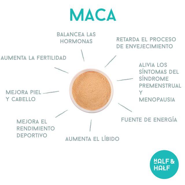La maca, es una raíz parecida a la jícama que proviene de