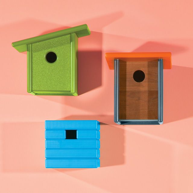 Modern Birdhouses By Duluth Mn Based Loll Designs