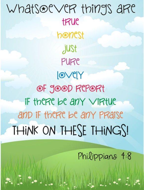 Philippians 4:8 (KJV)