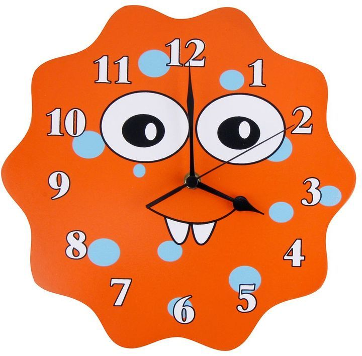 Trend lab snuggle monster wall clock