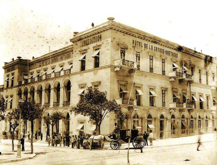 Το Ξενοδοχείο Μ. Βρετανία στο Συνταγμα η κατασκευή του οποίου ολοκληρώθηκε το 1842