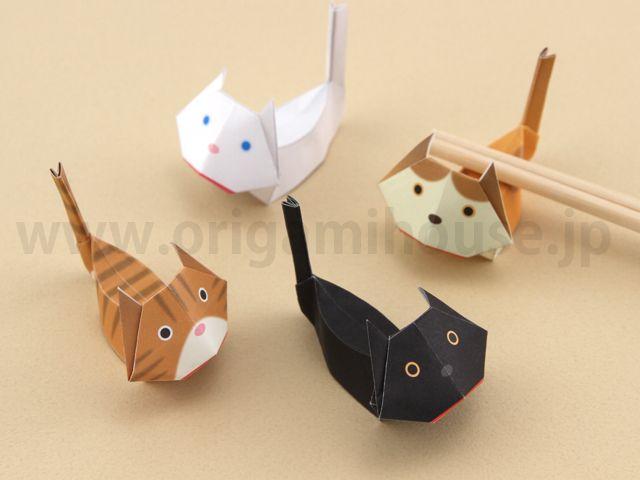 クリスマス 折り紙:折り紙 動物-jp.pinterest.com
