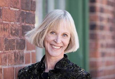 Sandra Gulland, author taking part in the Enlivening the Past panel discussion, during this year's North Shore Writers Fest.