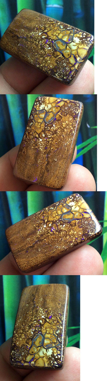 Boulder Opals 181111: 62.75Ct Solid Australian Boulder Opal Gemstone Earthy Color And Pattern~ Zen Opals -> BUY IT NOW ONLY: $33.8 on eBay!