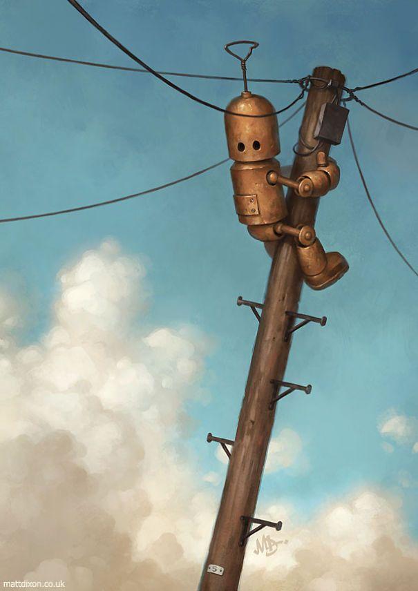 Pinturas-de-robots-solitarios-contemplando-el-mundo (13)