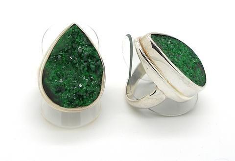Uvarovite Garnet Ring PB1