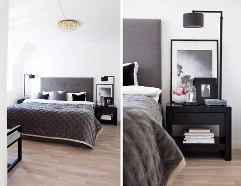 Soverom: like lyst og delikat som resten av leiligheten. den ...