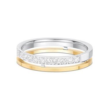 Diesen Diamantring in Gelbgold und Weißgold könnt ihr am 24.12.2014 beim TLC Adventskalender gewinnen: http://www.tlc.de/adventskalender/ #Ring #Diamanten #Schmuck #Gewinnspiele #Ehering #Trauring #Hochzeit