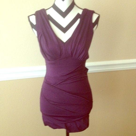 Purple Mini Club Dress Ask questions! No trades  No Pay Pal ✅Bundles  ✅Negotiate/offers  Smoke free  Pet free Dresses Mini