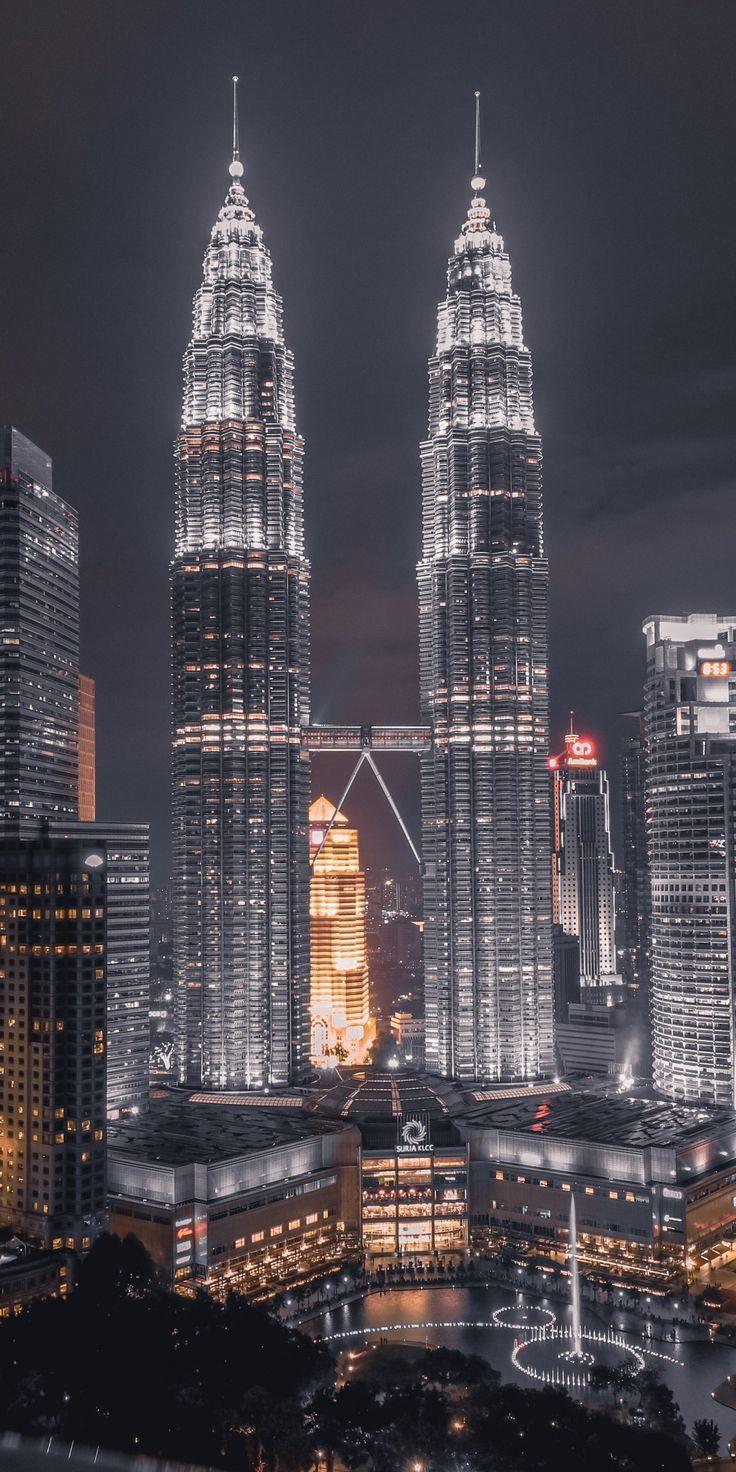 1080x2160 Hintergrundbild Kuala Lumpur Modernegebaeude Petronas Stadtbild Tower Towe Fotografia De Cidades Fotografia De Paisagem Fotografia Da Cidade