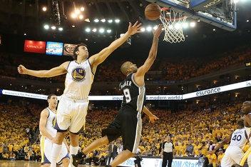 NBA playoff scores: Tony Parker, Spurs splash Warriors, Heat beat Bulls