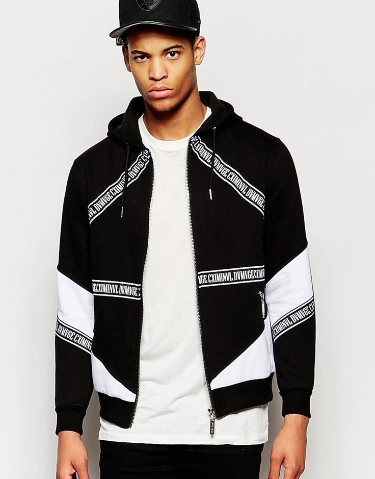 Criminal Damage | Criminal Damage Downtown Hoodie at ASOS this would look  nice on a women