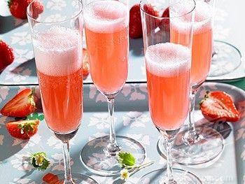Cocktail con uva fragola