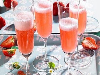 Cocktail con uva fragola