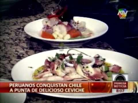 El arte de preparar ceviche correctamente y la importancia que tiene en la cultura de los peruanos - Chile - Tuteve.TV - Alan Blaesser