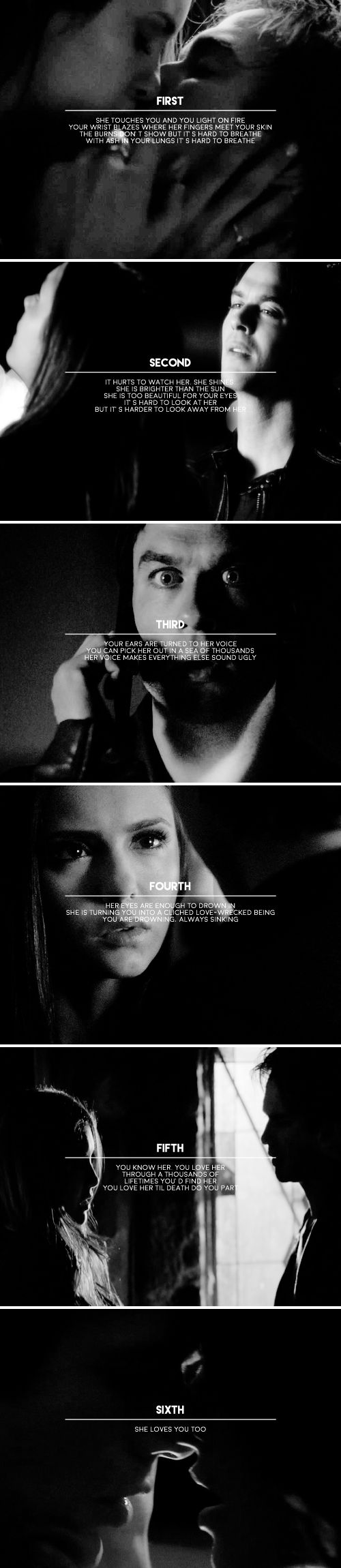 OH MY GOD WHO EVER MADE THIS U ARE HEAVEN SENT OHMYGOD I GOT THE FEELS, DELENA FEELS OF SHIESHAKEBJS
