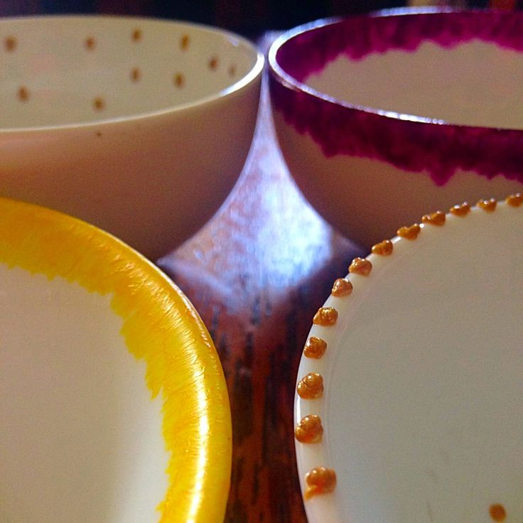 DIY Painted Dishes