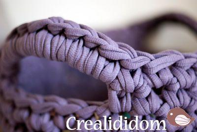 Petit panier en crochet, Tuto pour fabriquer - Loisirs créatifs
