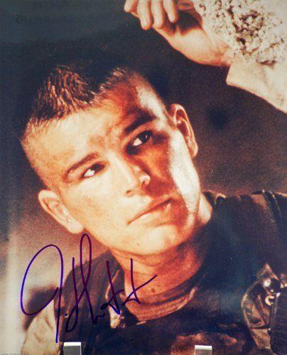 josh hartnett autographed 8x10 color photograph from black hawk down signed in blue sharpie - Josh Hartnett Halloween