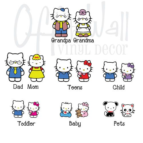 Hello Kitty Family Hello Kitty Family Hello Kitty Kitty