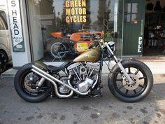 Shovelhead | Bobber Inspiration - Bobbers and Custom Motorcycles October 2014