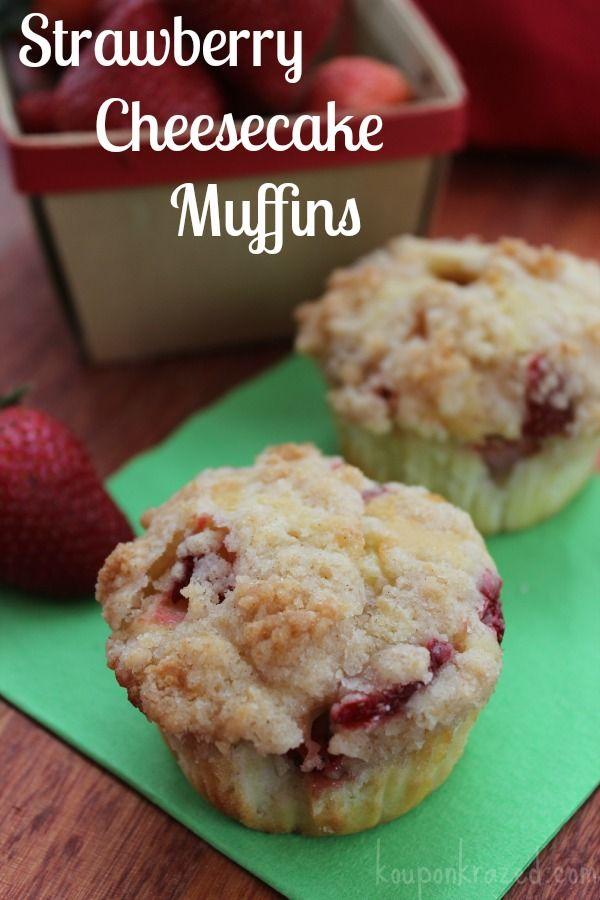 Strawberry Cheesecake Muffins Recipe