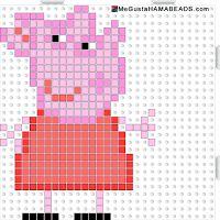 Hama Beads Peppa Pig