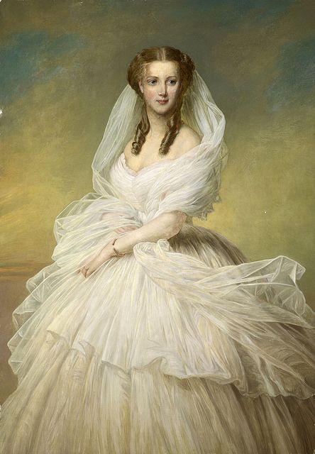 Franz Xaver Winterhalter 1805-1873 ALEMANIA. HRH THE PRINCESS OF WALES…