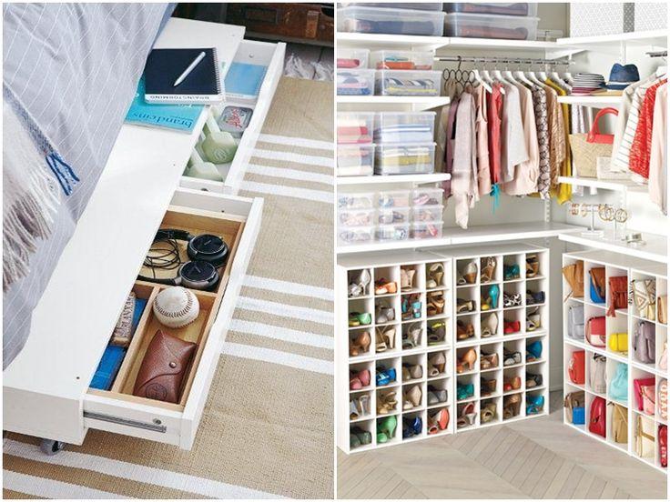 Risultati immagini per organizzare armadio
