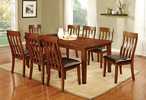Furniture of America Harcourt 9Piece Transitional Dining Set -- Click on the image for additional details.Note:It is affiliate link to Amazon.