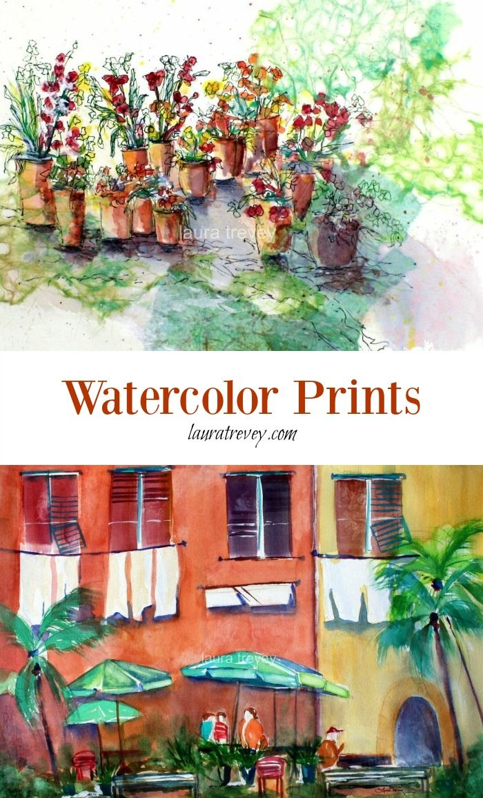 Shopping for art prints made easy with free shipping   Colorful home decor in watercolor, great gifts for any occasion.