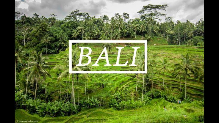 VOYAGE A BALI - YouTube