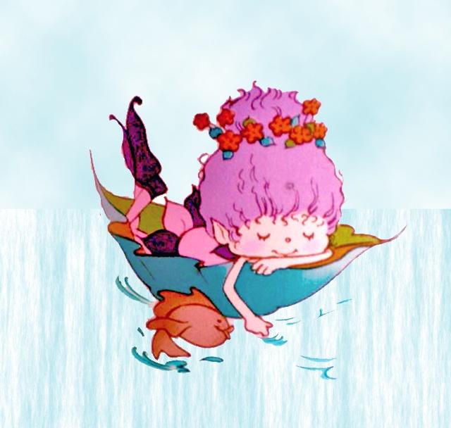 WOODPINK FLOATING IN LEAF