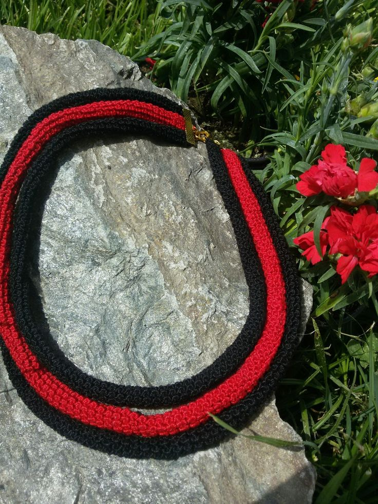 Made by Marcela: Crochet necklance