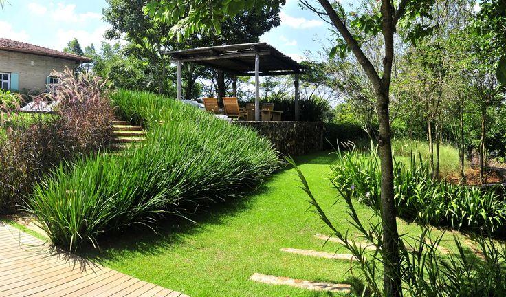 Projetos residenciais alex hanazaki talud pinterest - Jardines modernos ...