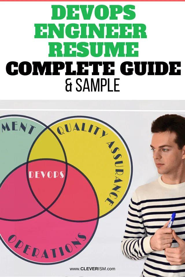 devops engineer resume  sample  u0026 complete guide in 2020